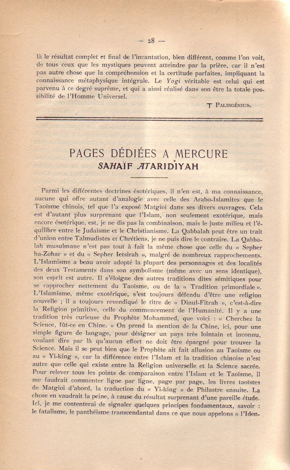 Pages..Mércure . 28