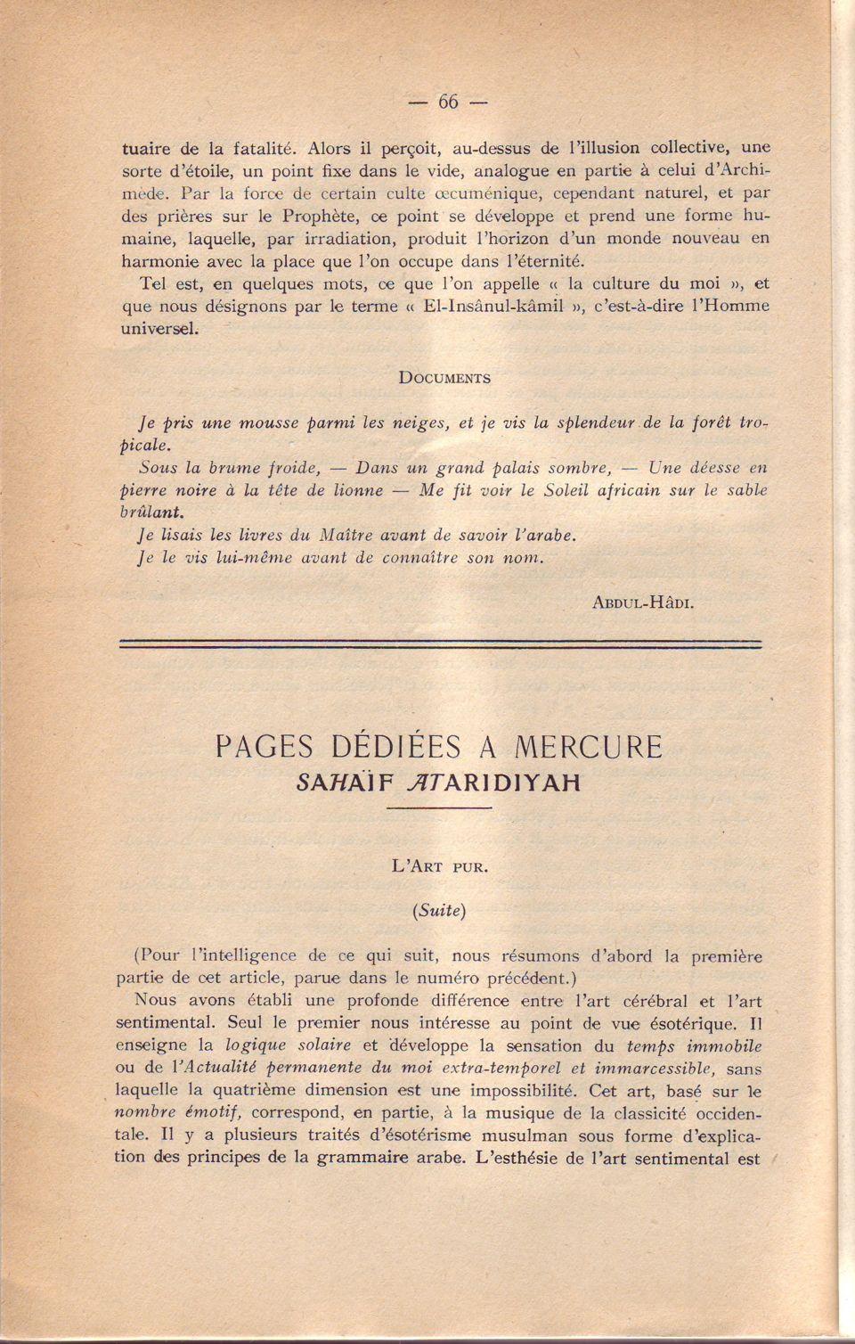 Pages..Mércure 12. 66